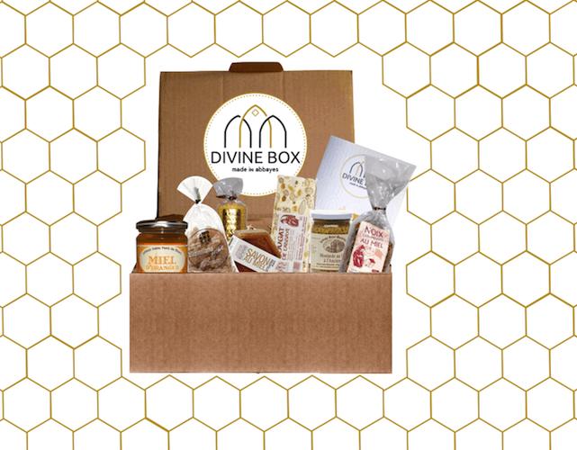 Photo couverture page d'accueil Divine Box