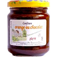 Confiture orange-chocolat ou banane-chocolat - Monastère de Thiais - Divine Box de mars