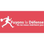 Logo Fuyons La Défense Presse