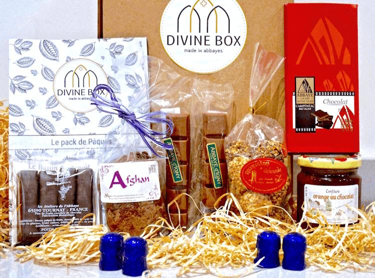 Divine Box mars thème du chocolat