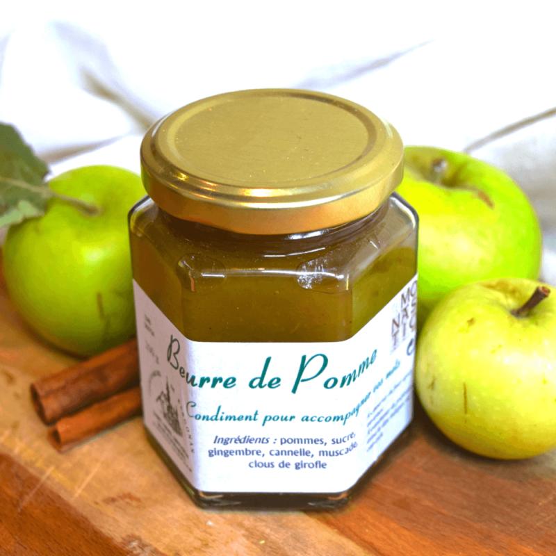 Beurre de pomme - Abbaye Saint-Michel de Kernogan - Divine Box