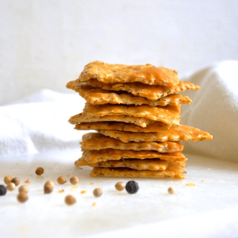 Crackers au thym - Monastère de l'Annonciade de Thiais - Divine Box
