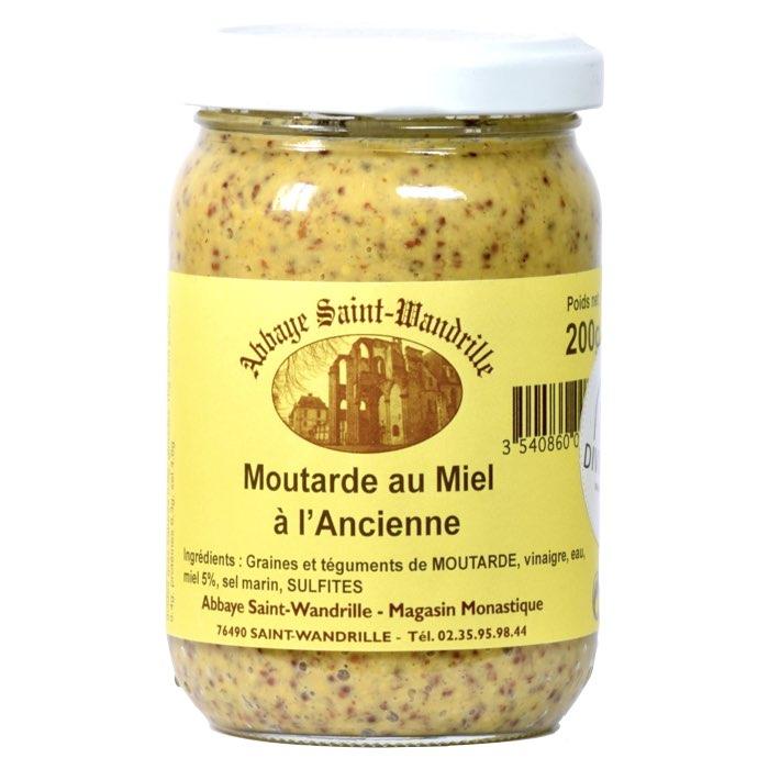 Moutarde au miel à l'ancienne - Abbaye de Saint-Wandrille