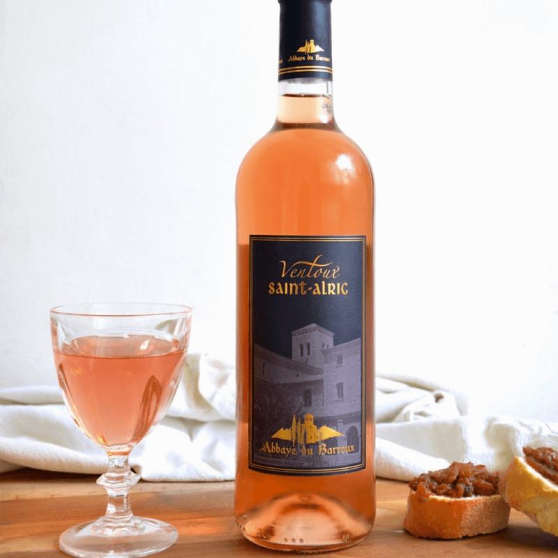 Vin rosé Ventoux Saint-Alric - Abbaye Sainte Madeleine du Barroux - Divine Box