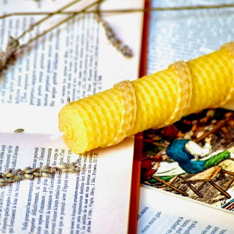 Bougies à la cire d'abeille SCENE - Monastère de la Paix-Dieu de Cabanoule