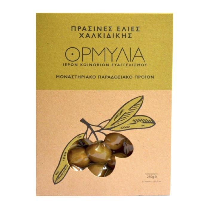 Olives vertes - Monastère d'Ormylia