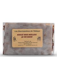 Divine Box de septembre - Nougat noir moelleux au vin rouge - Abbaye de Blauvac