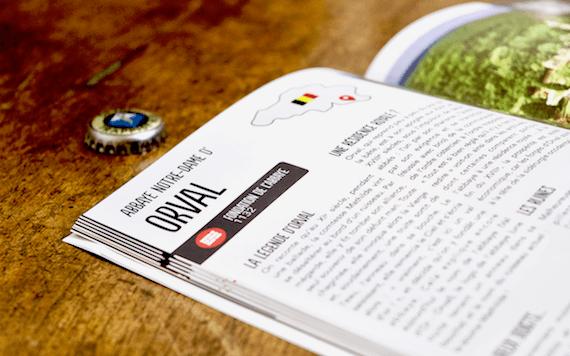 Guide des bières trappistes - zoom - Divine Box