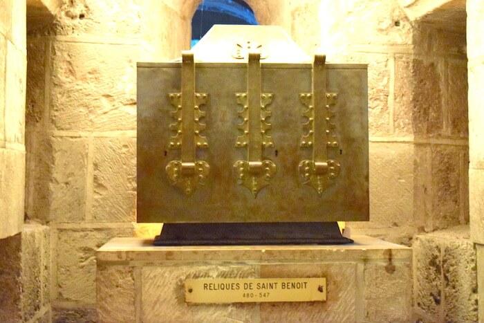 Reliques de saint Benoit - Abbaye de Saint-Benoit-sur-Loire-Divine-Box