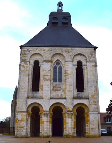 Tour-porche - Abbaye de Saint-Benoit-sur-Loire-Divine-Box