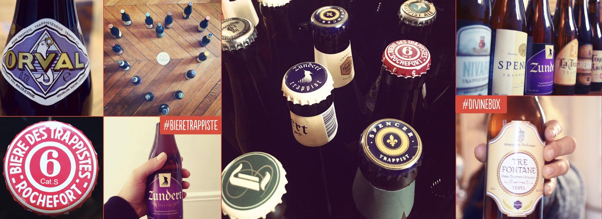 Bandeau #divinebox bière trappiste desktop