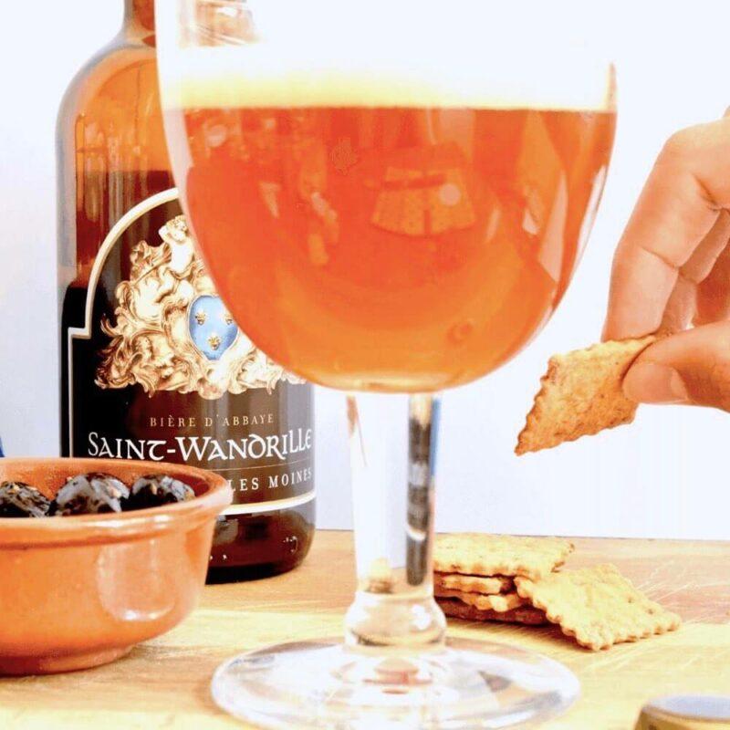 Bière ambrée - Abbaye de Saint-Wandrille - Divine Box 2
