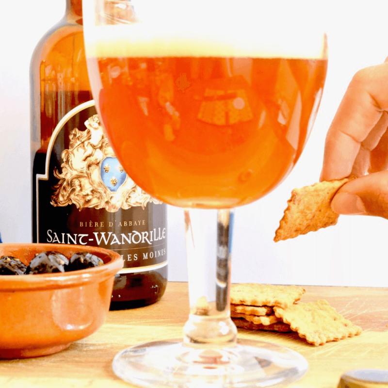 Bière ambrée - Abbaye de Saint-Wandrille - Divine Box
