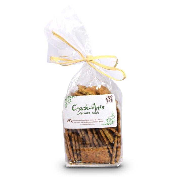 Crackers à l'anis biscuits salés - Monastère de l'Annonciade de Thiais