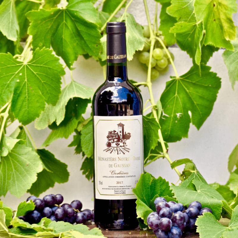 Vin rouge - Monastère Notre-Dame de Gaussan