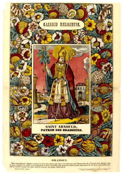 Saint Arnould de Metz n'est pas seulement à l'origine du miracle de la bière, il est aussi patron des brasseurs