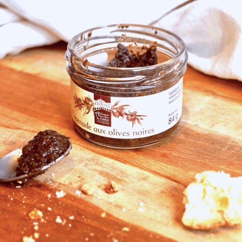 Tapenade aux olives noires - Abbaye Notre-Dame de Fidélité de Jouques - Divine Box 2