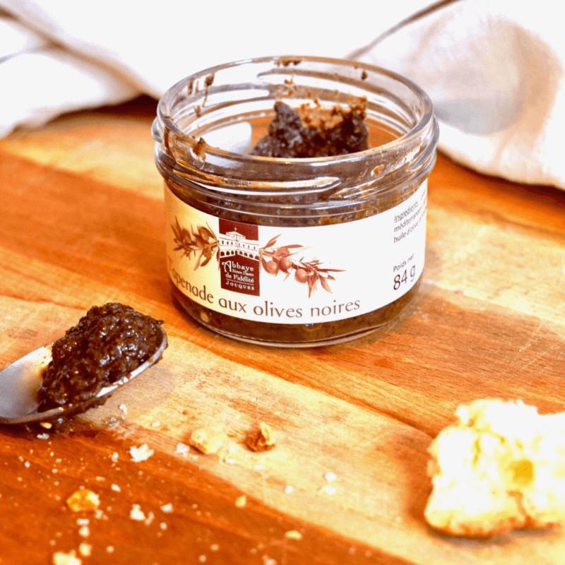 Tapenade aux olives noires - Abbaye Notre-Dame de Fidélité de Jouques - Divine Box