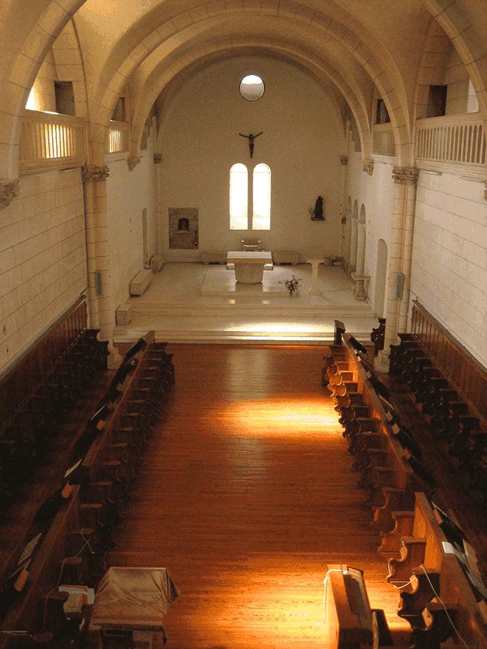 Eglise - Abbaye de Sainte-Marie du Rivet - Divine Box