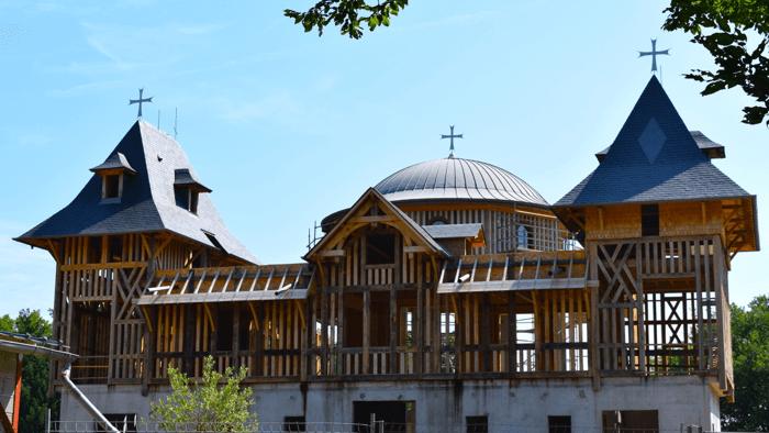 Nouvelle Eglise Monastère Transfiguration - Divine Box