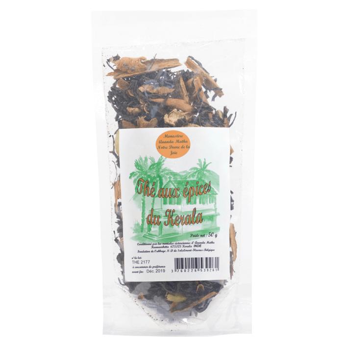 Thé noir aux épices - Monastère d'Ananda Matha (Inde)