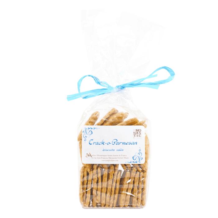 Crackers au parmesan - Monastère des Annonciades de Thiais