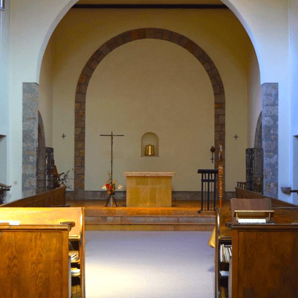 L'église de l'abbaye de Castagniers