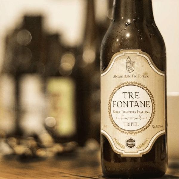 La Tre Fontane est une bière trappiste Tripel - Crédit photo: @f3stand