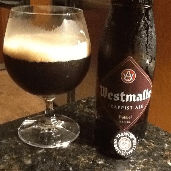 La bière trappiste Westmalle Dubbel