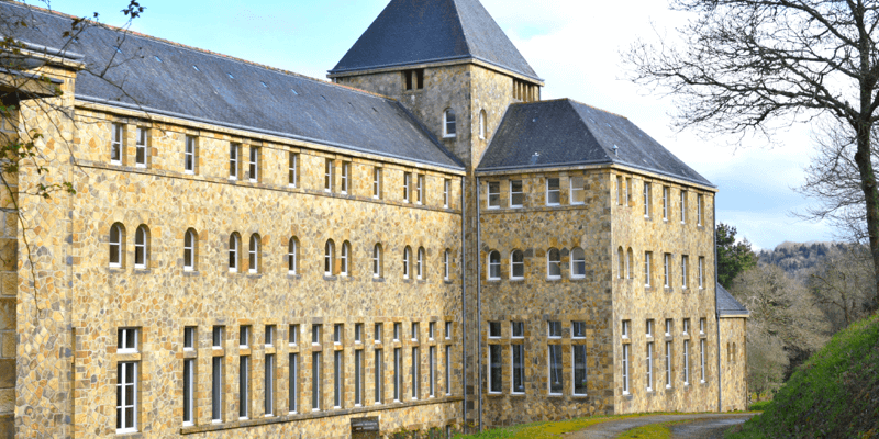 L'abbaye de Landévennec en Bretagne