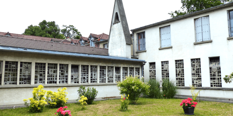 L'église du monastère de l'Annonciade de Thiais