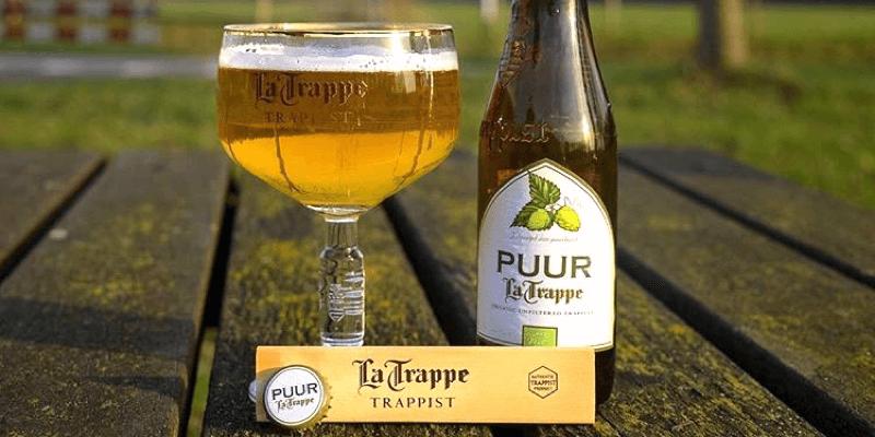 La bière trappiste «La Trappe Puur» est entièrement bio dans ses ingrédients et son brassage
