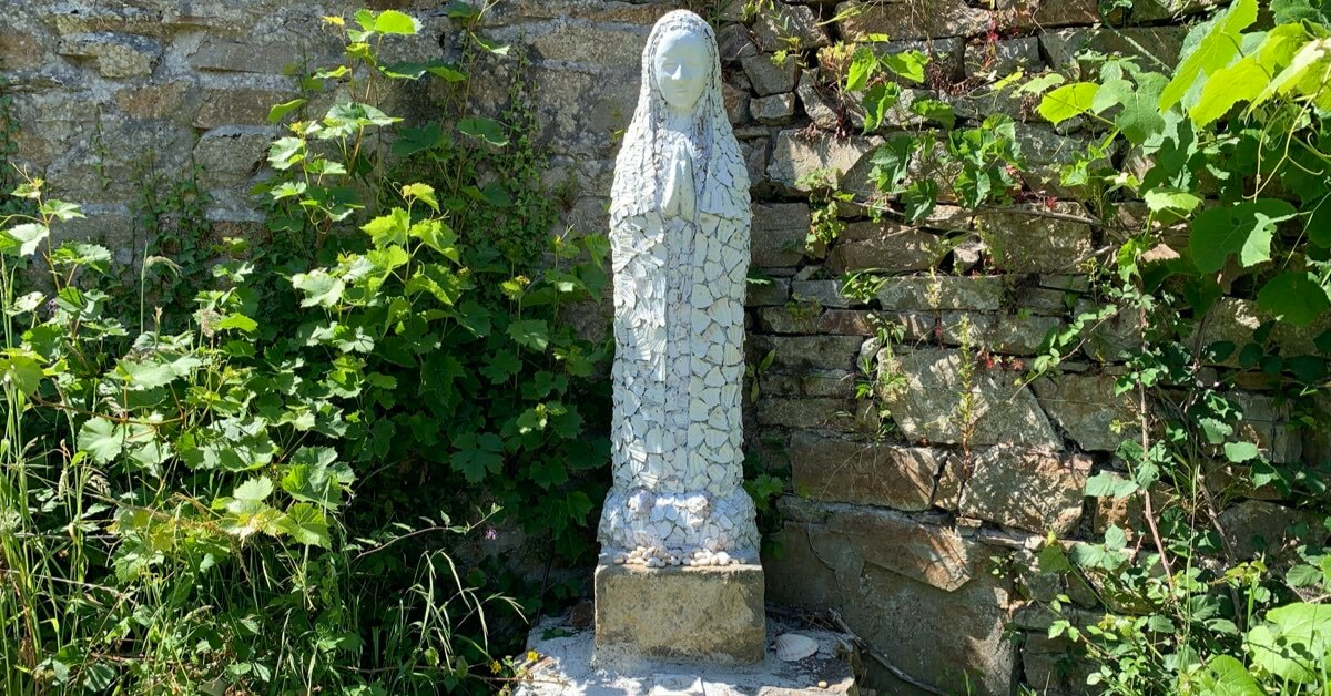 Notre Dame des coquilles saint Jacques - Landévennec