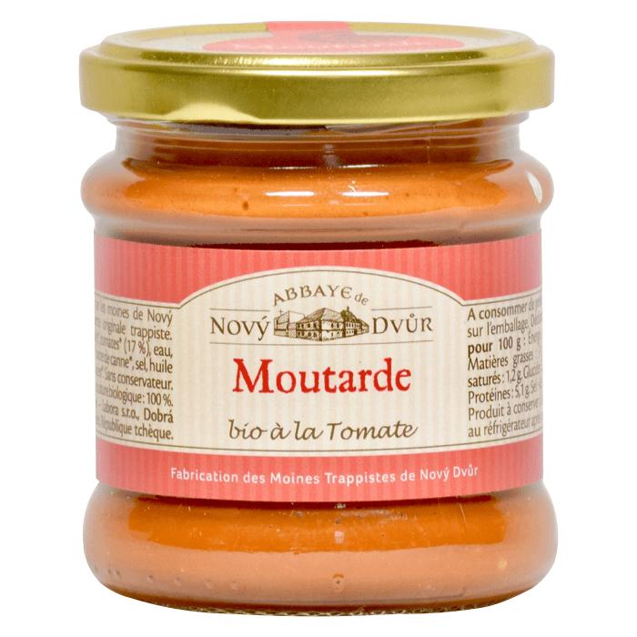 Moutarde à la tomate - Abbaye Notre-Dame de Novy Dvur - Divine Box