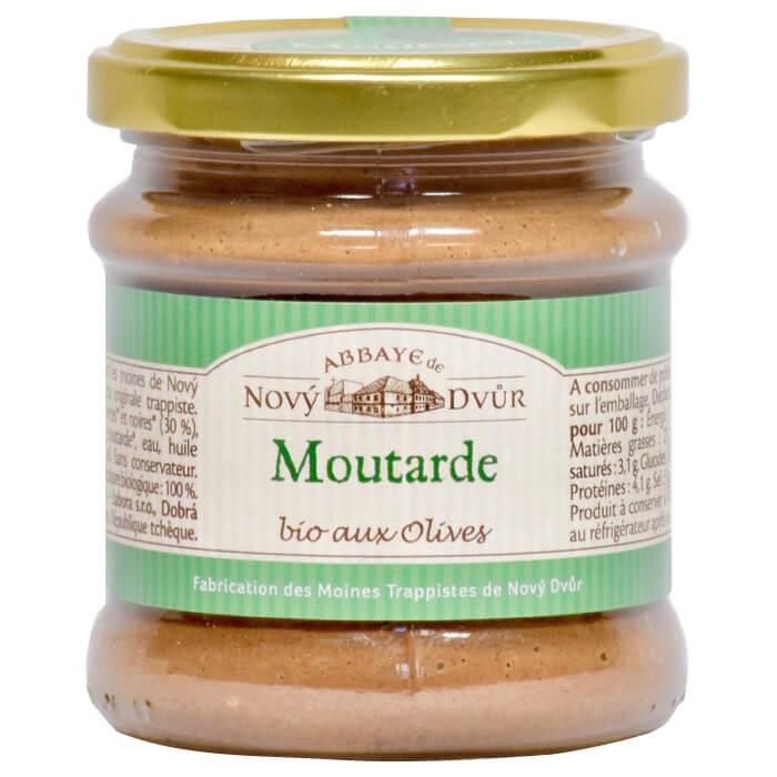 Moutarde aux olives - Abbaye de Nový Dvůr - Divine Box