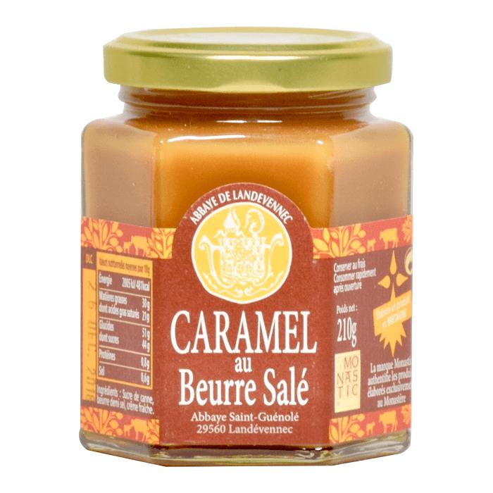 Caramel au beurre salé - Abbaye Saint-Guénolé de Landévennec - Divine Box