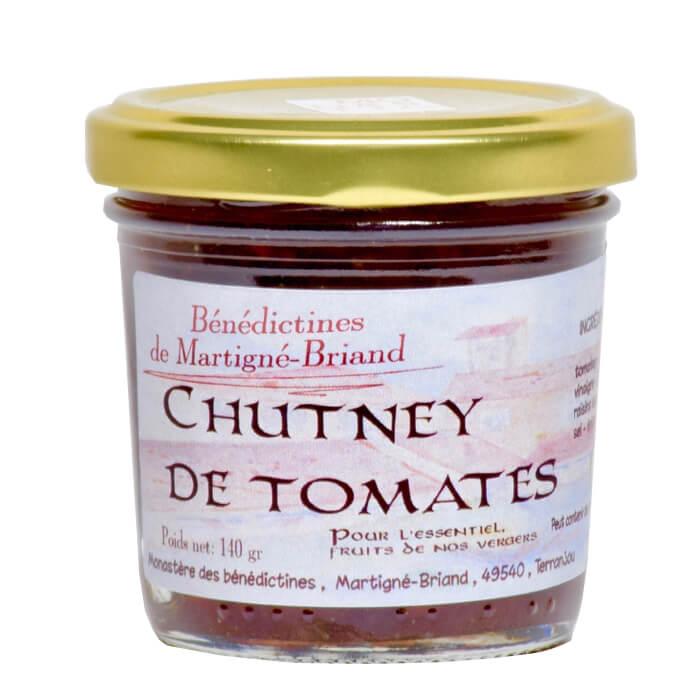 Chutney de tomates - Monastère de Martigné-Briand - Divine Box