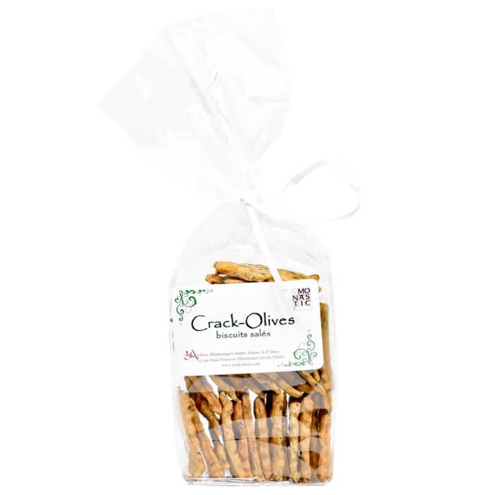 Crackers aux olives - Monastère de l'Annonciade de Thiais - Divine Box