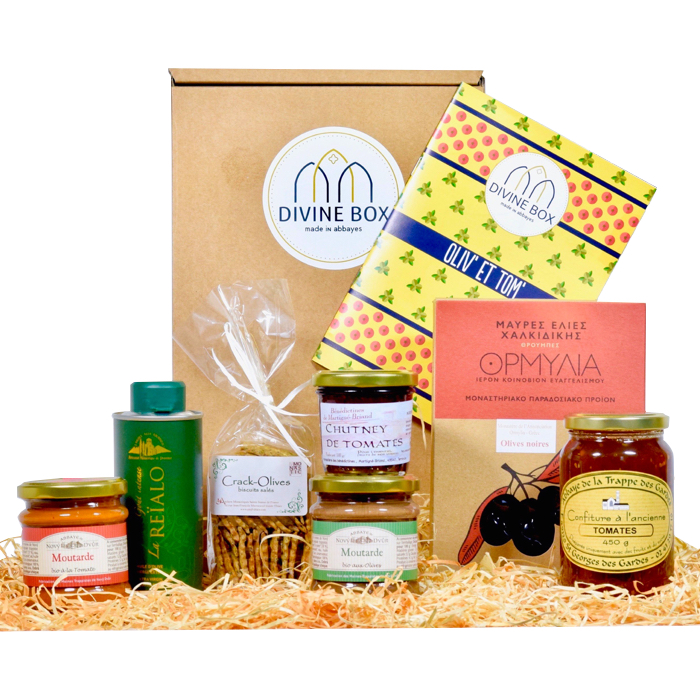 Divine Box de mai - gourmands - Divine Box