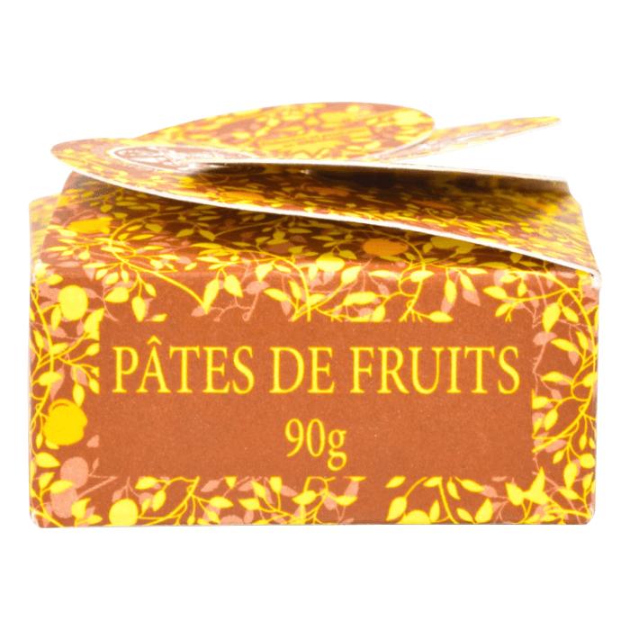 Pâtes de fruits - Boîte jaune - Abbaye Saint-Guénolé de Landévennec - Divine Box