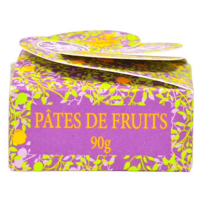 Pâtes de fruits - Boîte verte - Abbaye Saint-Guénolé de Landévennec - Divine Box