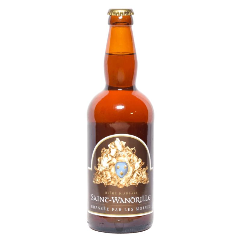 Bière ambrée - Abbaye de Saint-Wandrille de Fontenelle - Divine Box