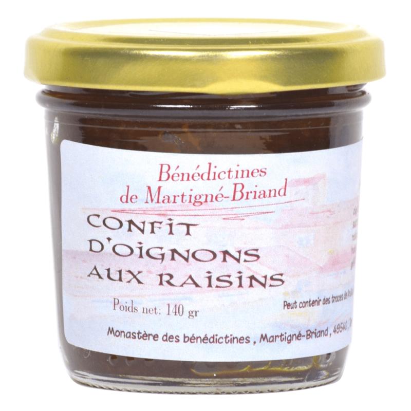 Confit d'oignons aux raisins - Monastère de Martigné-Brianc - Divine Box