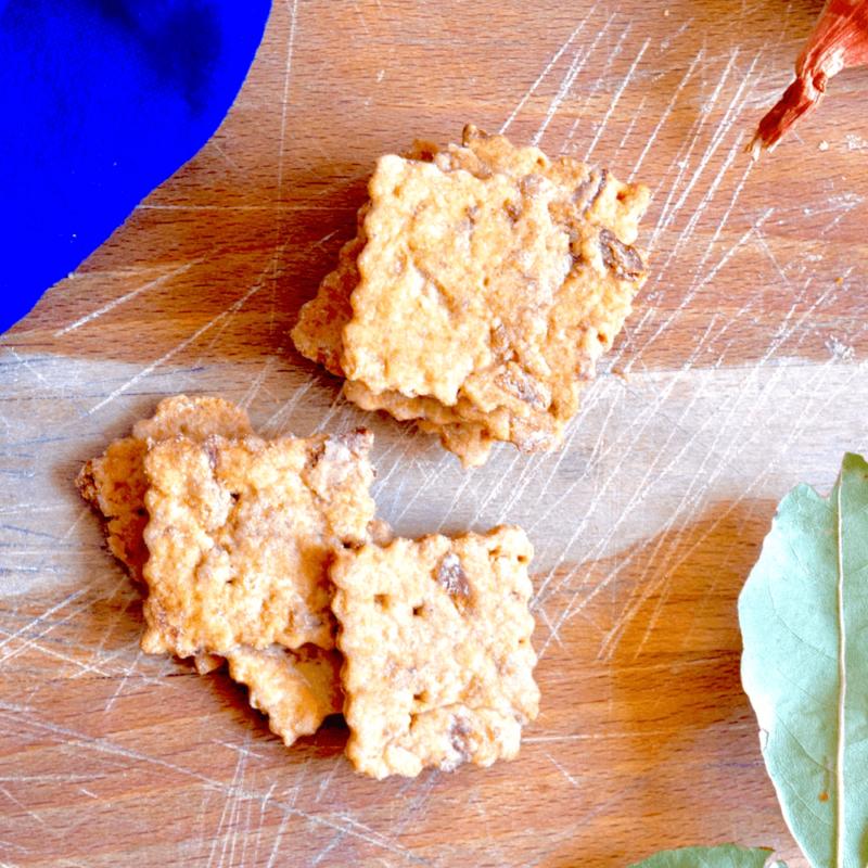 Crackers aux oignons - Monastère de l'Annonciade de Thiais - Divine Box