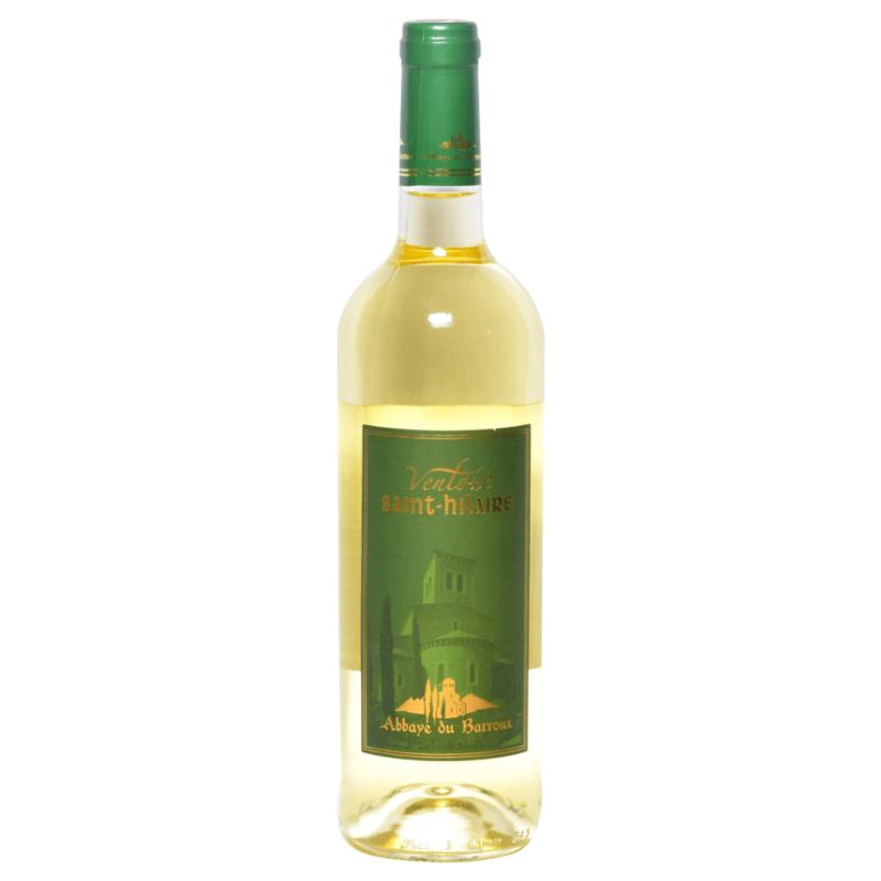 Vin blanc Ventoux Saint-Hilaire - Abbaye Sainte-Madeleine du Barroux - Divine Box