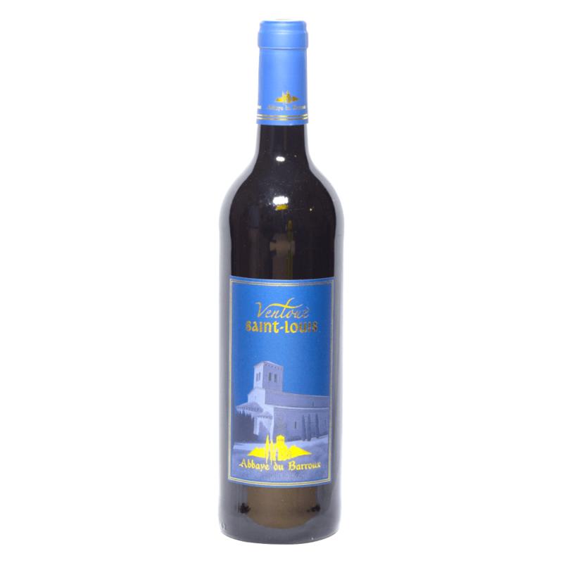 Vin rouge Ventoux Saint-Louis - Abbaye Sainte-Madeleine du Barroux - Divine Box