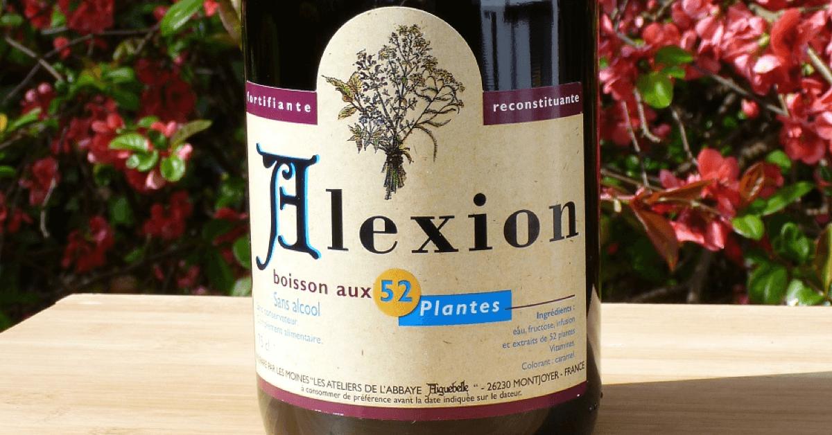 L'Alexion d'Aiguebelle est une boisson naturelle tonifiante élaborée par les moines de l'abbaye d'Aiguebelle