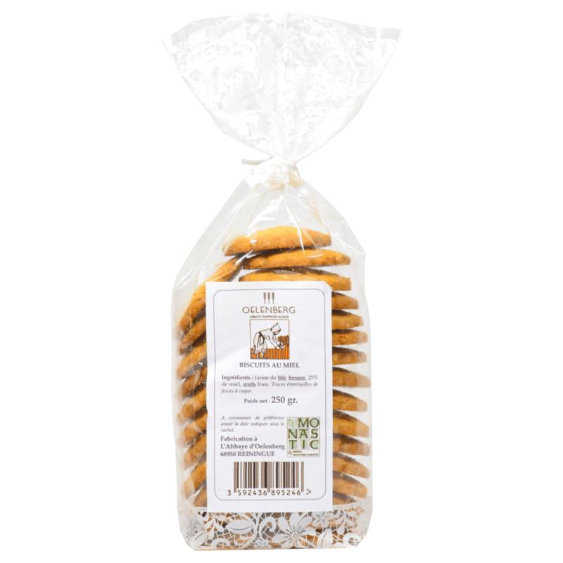 Biscuits au miel - Abbaye Notre-Dame d'Oelenberg - Divine Box