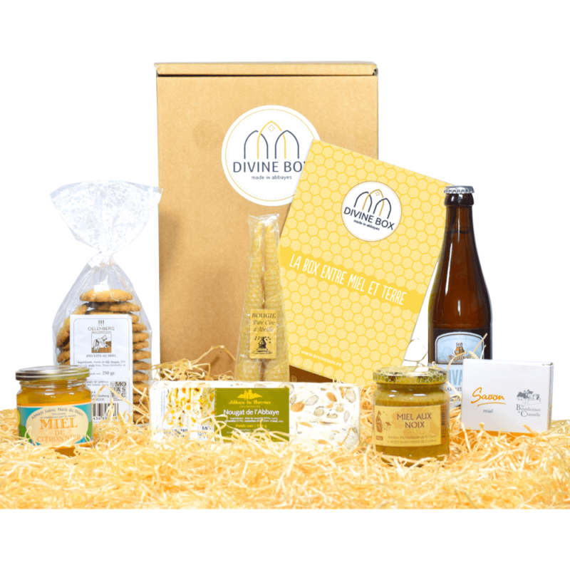 Divine Box de septembre gourmands - Divine Box