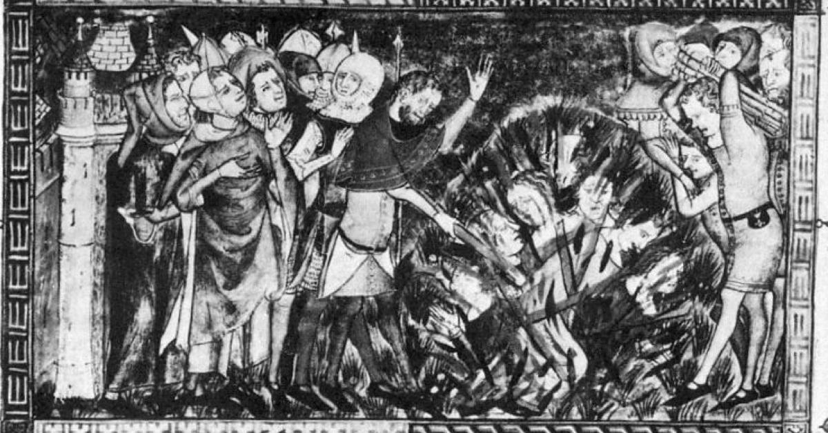 La peste noire a ravagé toute la Drôme provençale, et n'a pas épargné l'abbaye d'Aiguebelle